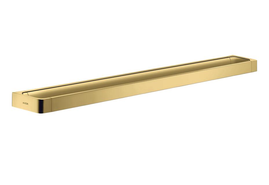 AXOR Universal Accessories Rail bath towel holder 800 mm Polished Gold Optic