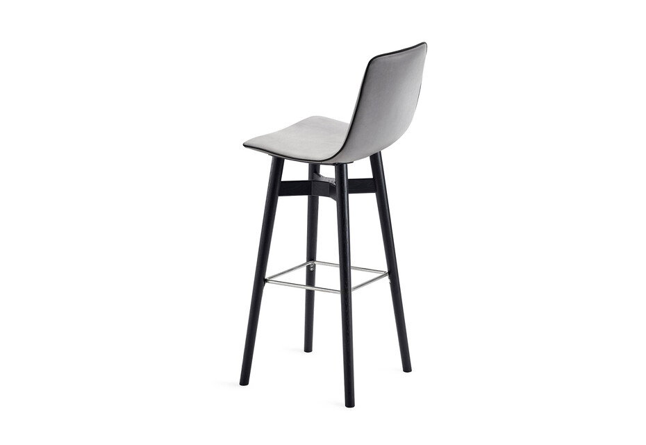 Amelie barstool high with wooden frame
