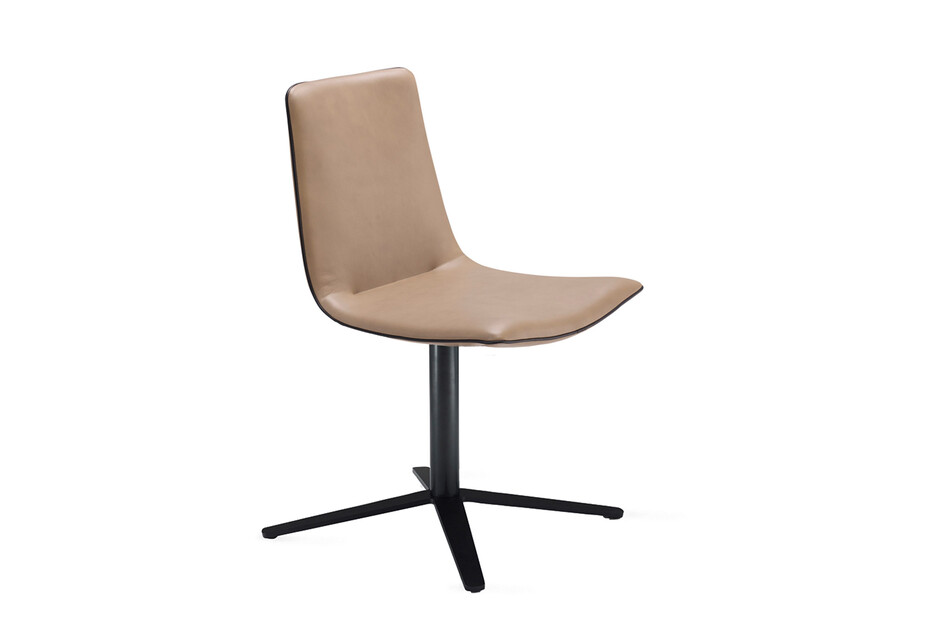 Amelie chair with x-base frame