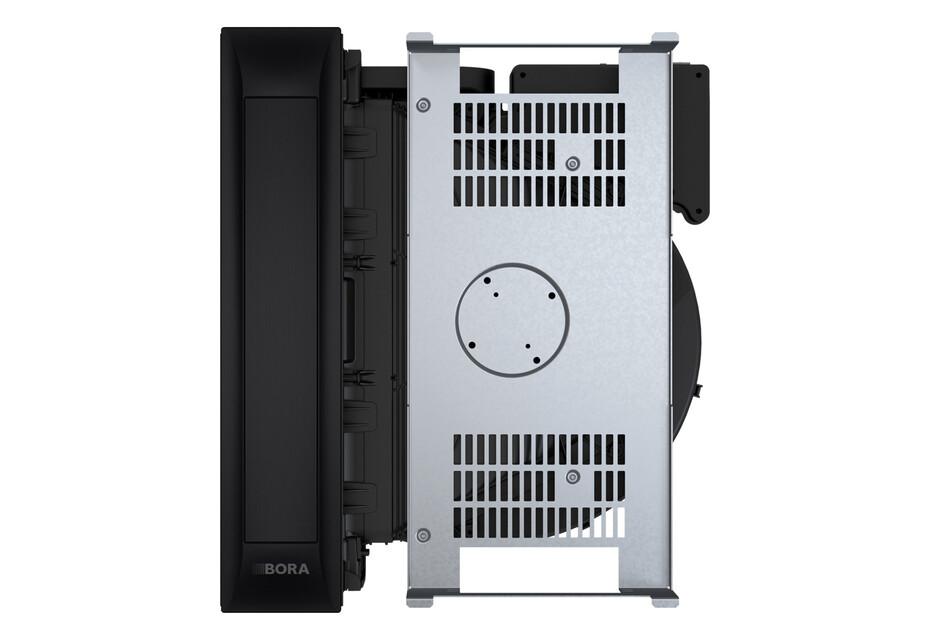 BORA Professional 3.0 Kochfeldabzugssystem mit integriertem Lüfter All Black
