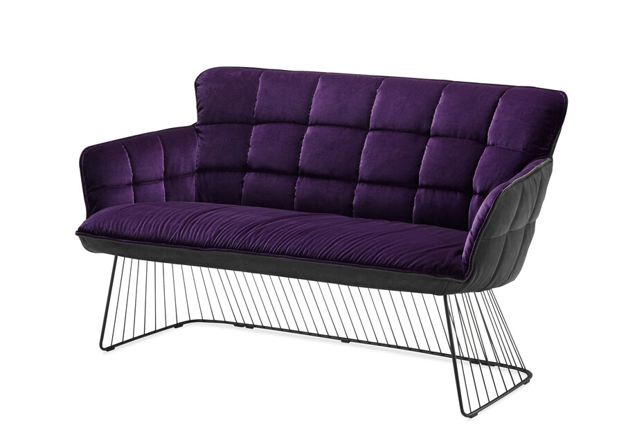 Marla couch with harp frame