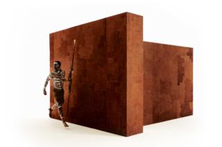 Bark Cloth 3000  by  Arte
