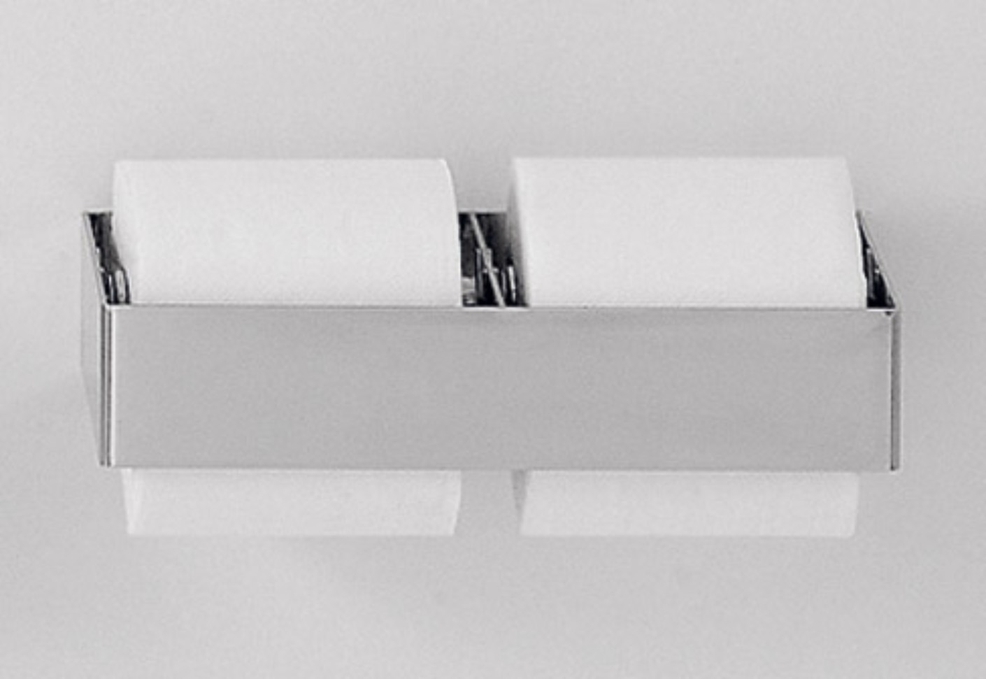 369 01 Toilet Roll Holder Double By Agape Stylepark