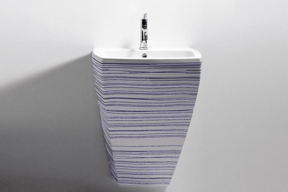 750 - washbasin decorated