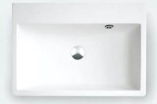 Block countertop washbasin  by  agape