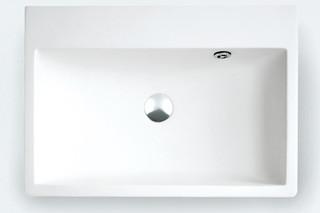 Block countertop washbasin  by  agape