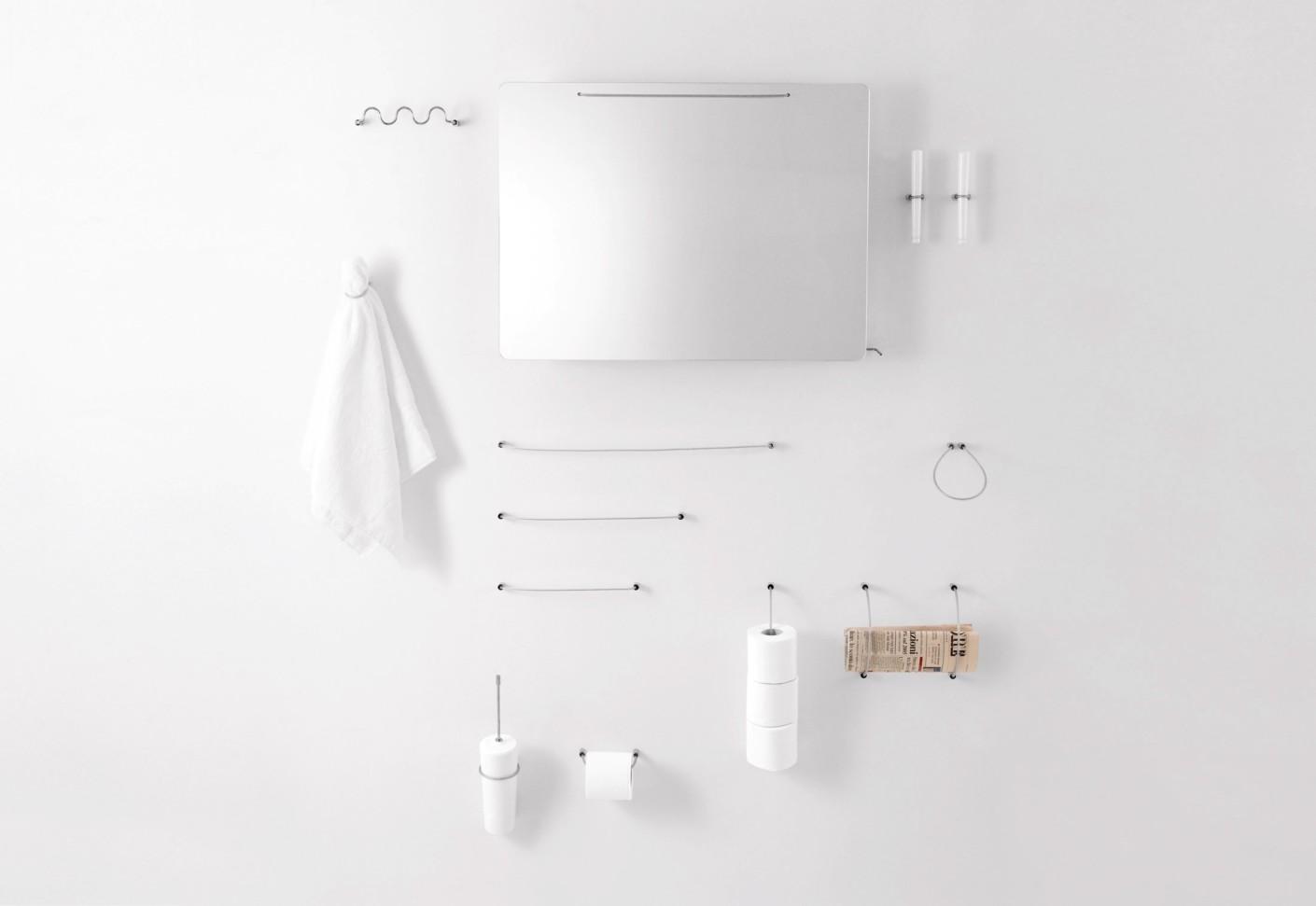 Bucatini 02 Multiple Toilet Roll Holder By Agape Stylepark