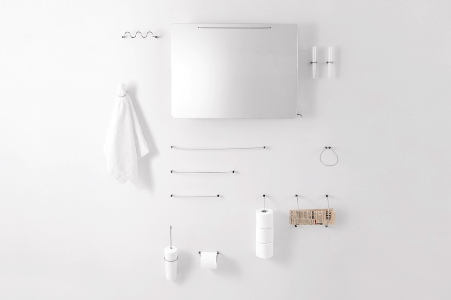 Bucatini - 02 multiple toilet roll holder