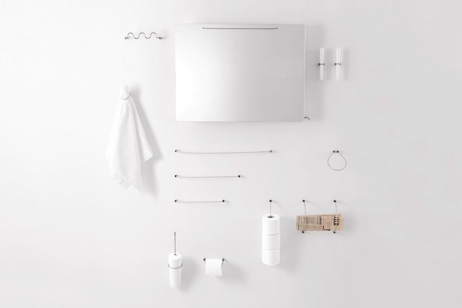 Bucatini - 02 toilet brush holder