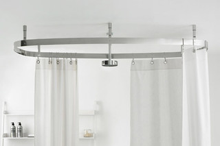 Cooper shower curtain system  by  agape