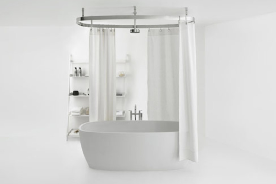 Cooper shower curtain system