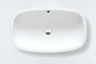 Deep countertop washbasin  by  agape