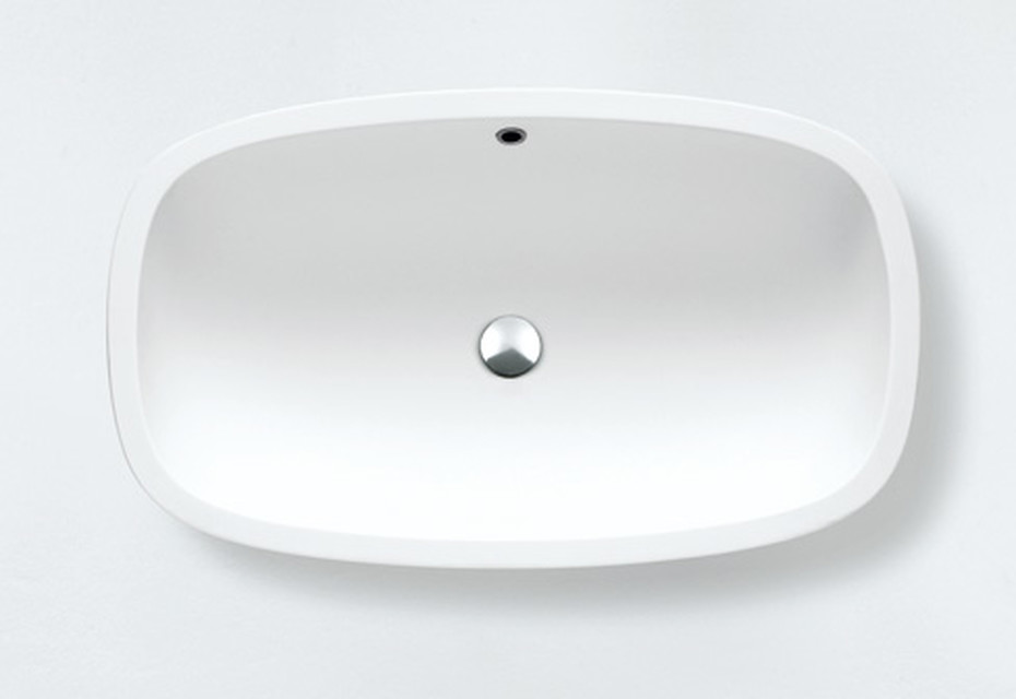 Deep countertop washbasin
