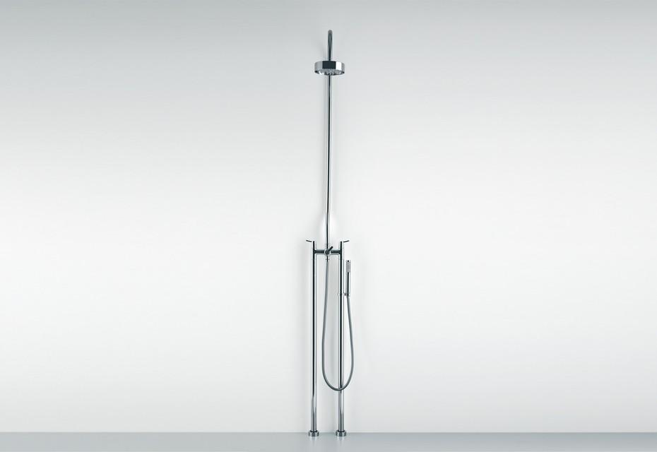 Fez floor standing shower tap