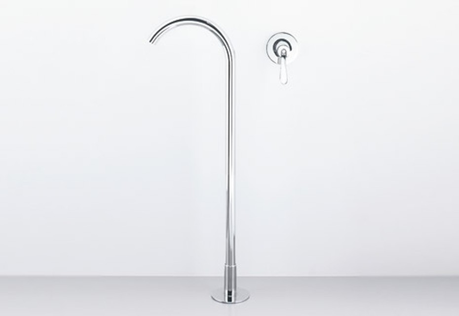 Fez spout for bathtube free standing