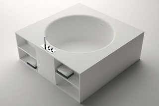 Inout free standing with shelfs  by  agape