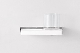 Mach - 01 soap and toothbrush holder  by  agape
