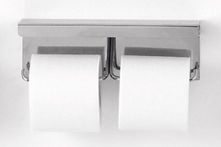 Mach - 02 toilet paper holder double  by  agape