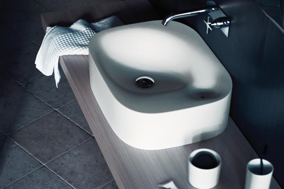Nivis countertop washbasin