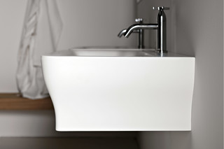 Novecento wall-mounted washbasin  by  agape