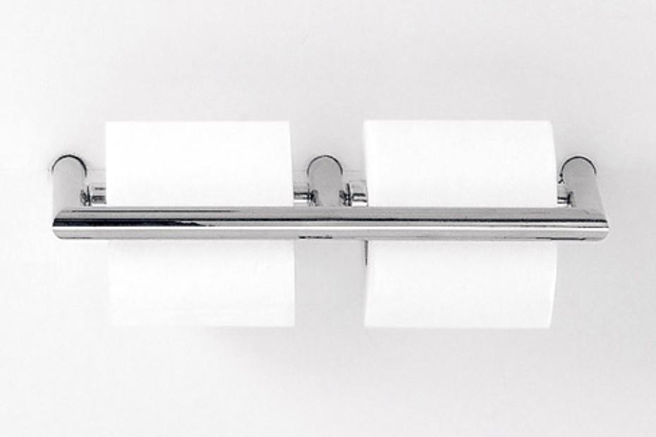 O L C 01 Toilet Roll Holder Double By Agape Stylepark