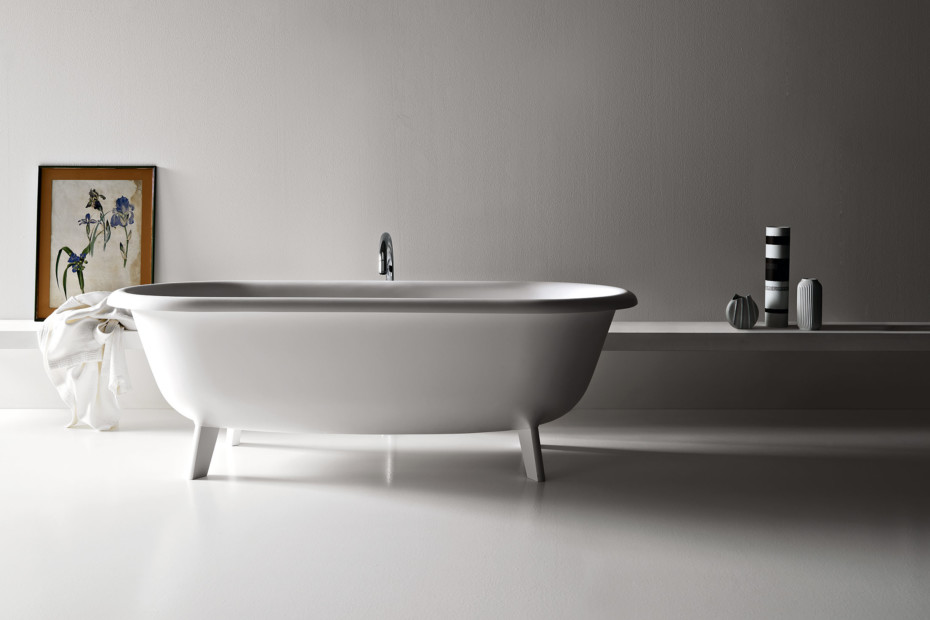 ottocento bathtub by agape stylepark. Black Bedroom Furniture Sets. Home Design Ideas