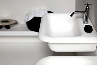 Ottocento washbasin wall-mounted  by  agape