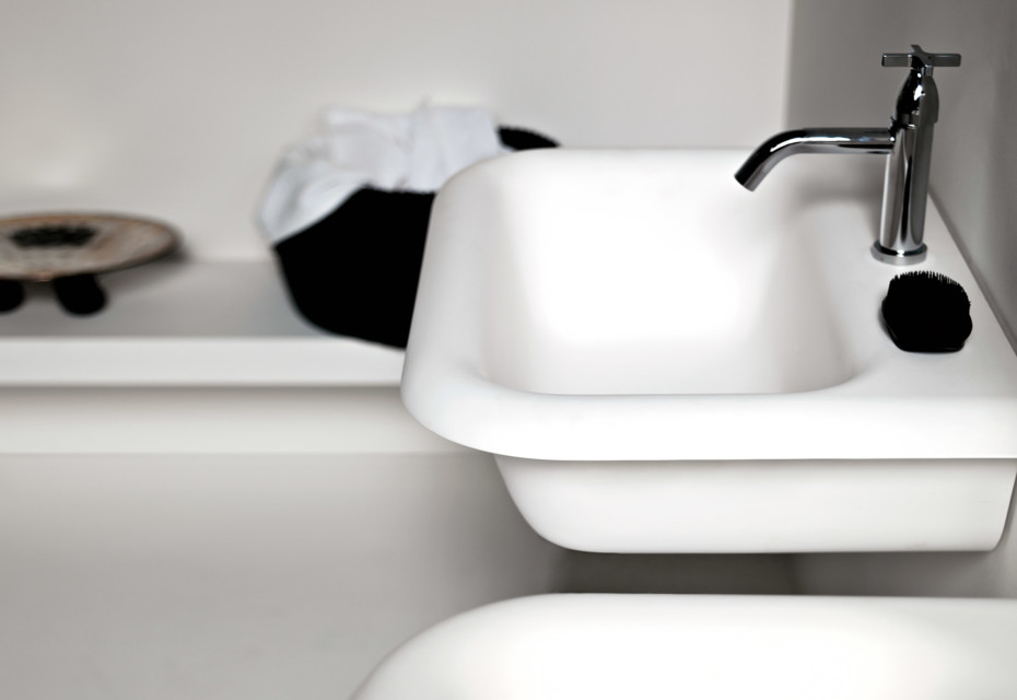 Ottocento washbasin wall-mounted