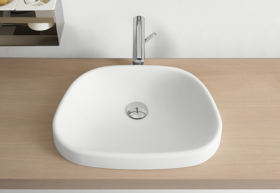 Pear washbasin countertop