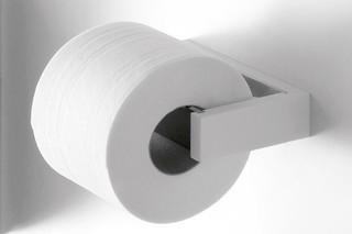 Porto - 02 toilet roll holder  by  agape
