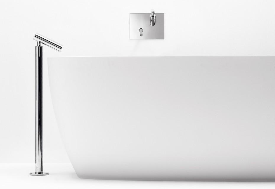 Square bathtube free standing
