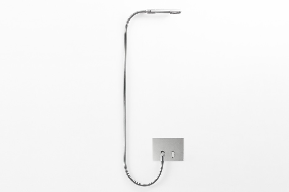 Square hand-held shower