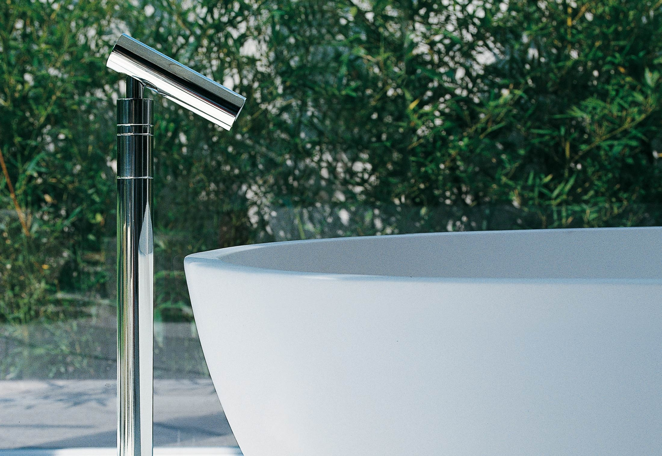 Square single lever mixer tap by agape | STYLEPARK