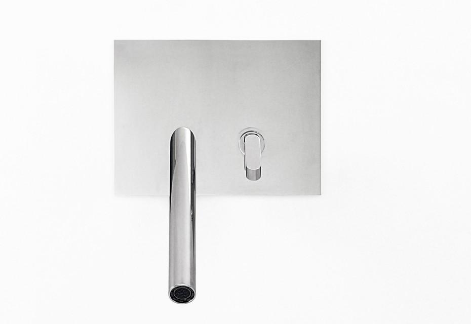 Square washbasin/bidet-set