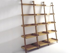 Stairs towel holder with shelves  by  agape