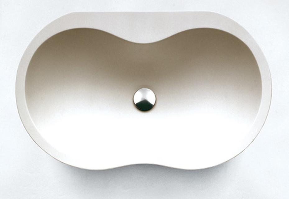 Viceversa countertop washbasin