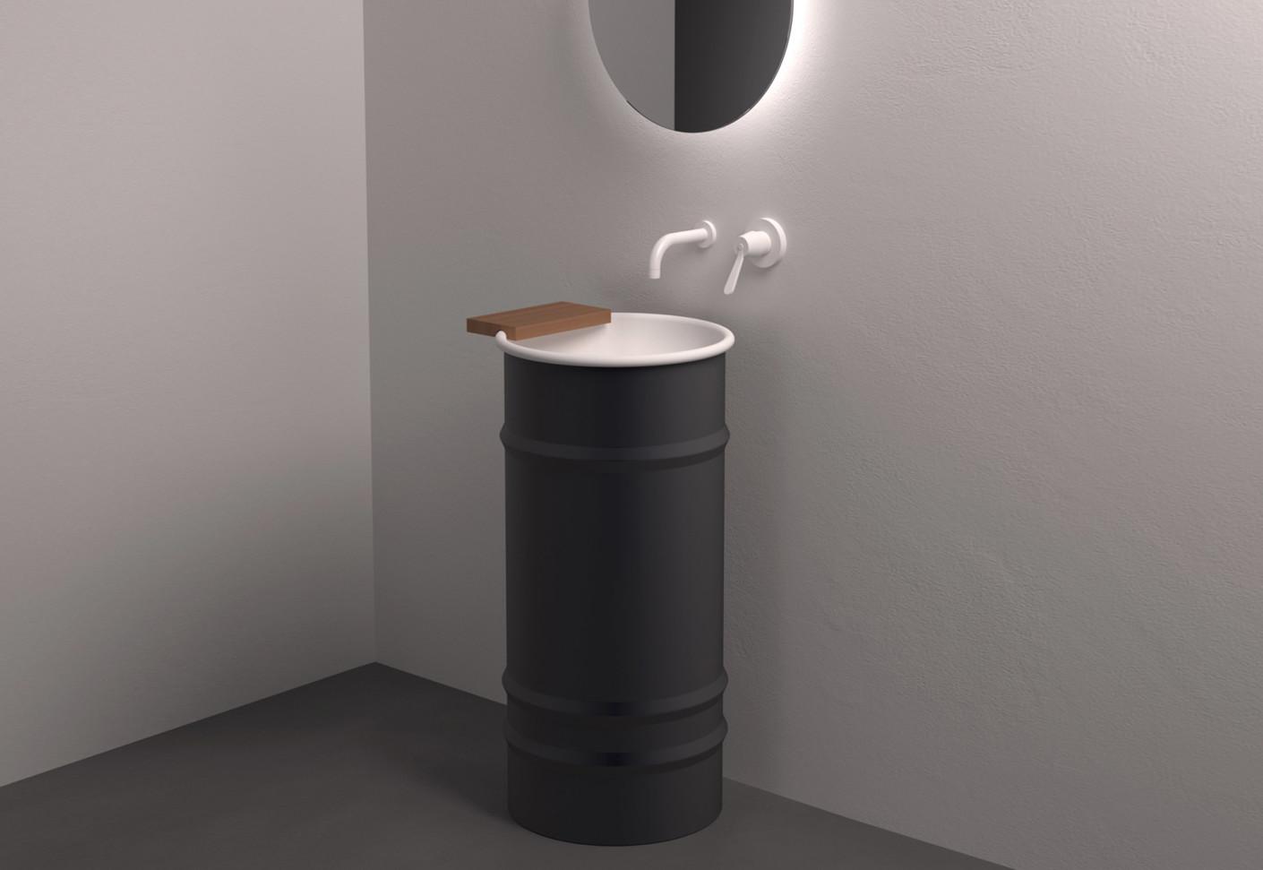 Waschbecken mit unterschrank rund  Wc Waschbecken Mit Unterschrank Günstig: Waschtisch mit ...