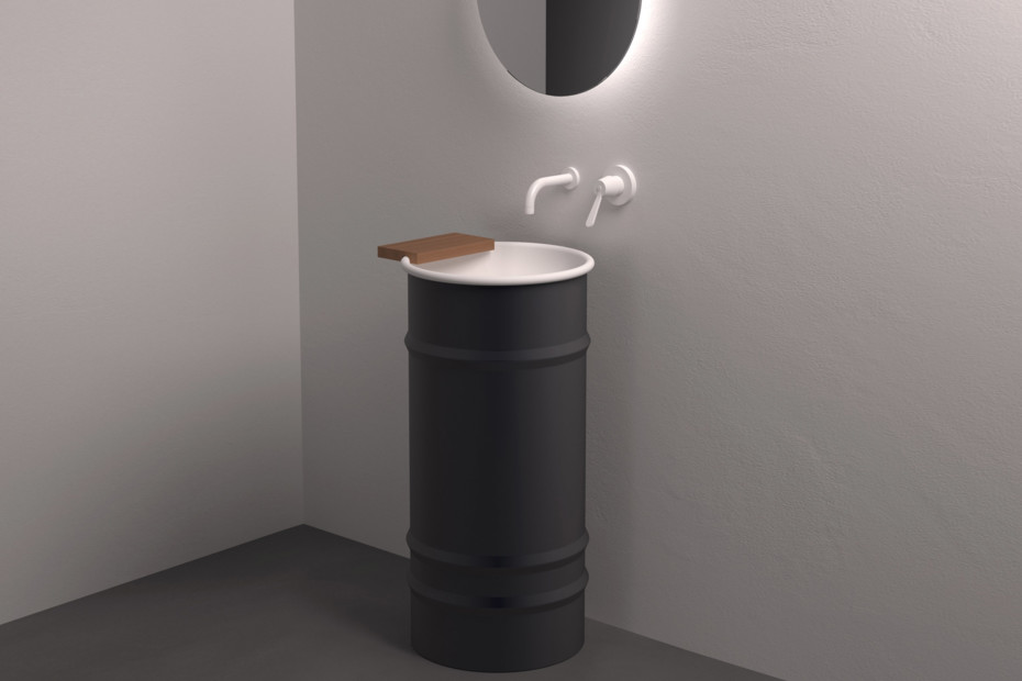 Vieques washbasin free standing
