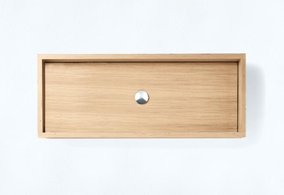 Woodline countertop washbasin