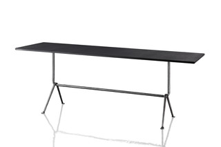OFFICINA rectangular small table  by  Magis