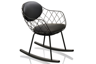 PIÑA rocking chair  by  Magis