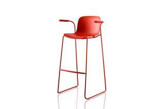 TROY barstool  by  Magis