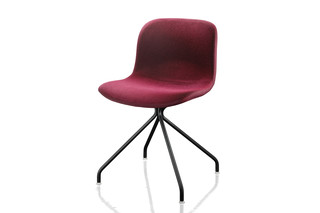 TROY fabric swivelchair  by  Magis