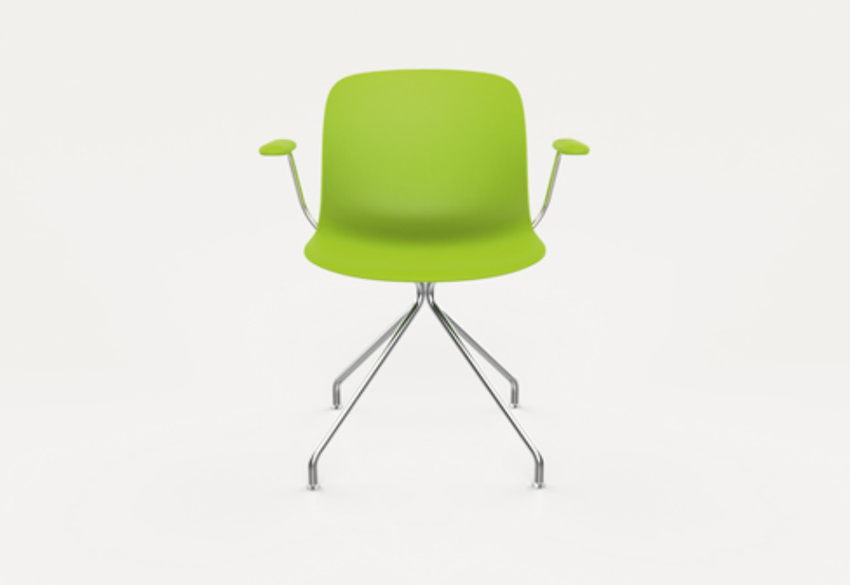 TROY swivelchair with armrests