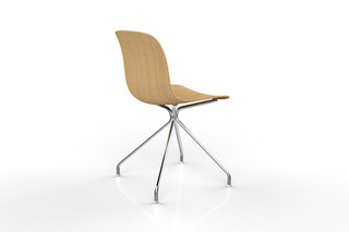 TROY wood swivelchair  by  Magis