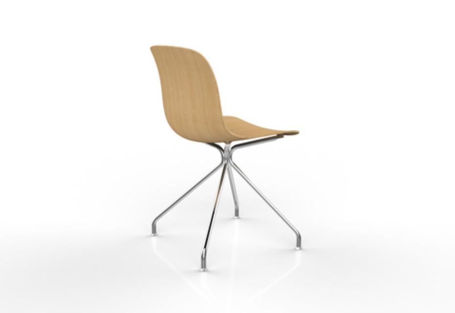 troy holz drehstuhl von magis stylepark. Black Bedroom Furniture Sets. Home Design Ideas