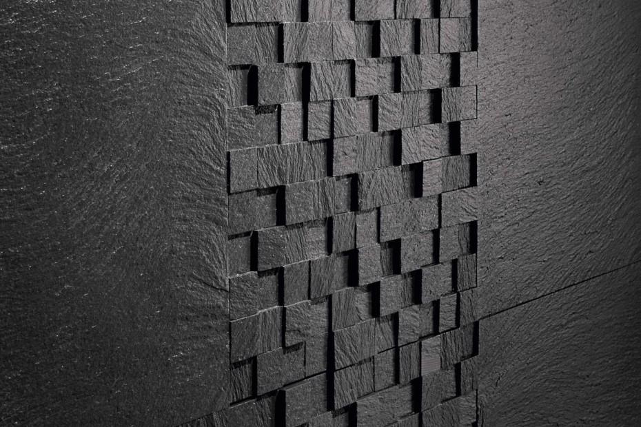 Ardesia Ligure Mosaico 3D spacco