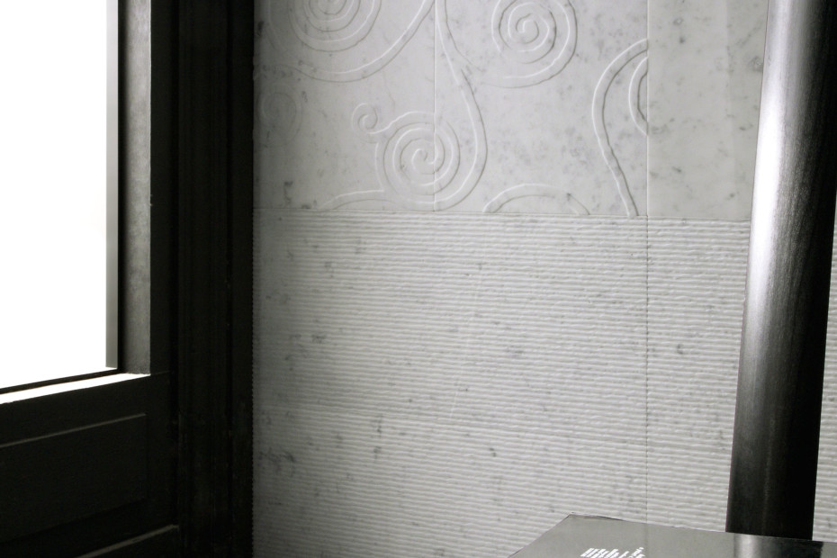 Carrara Canettato spazzolato
