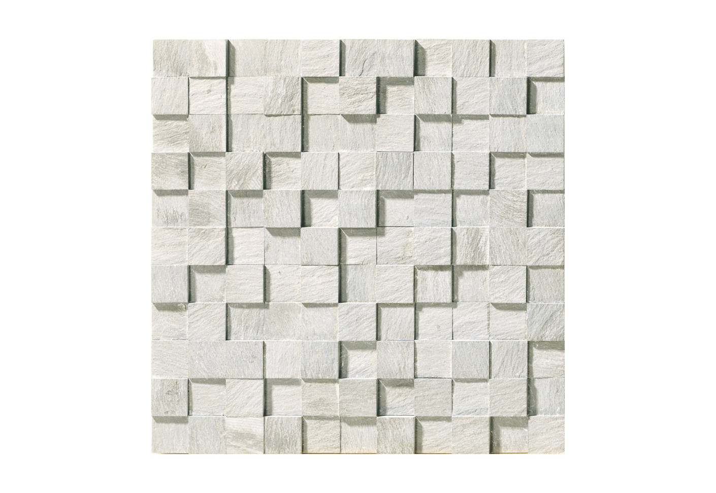 Carrara Mosaico 3D Naturale By Marmo Project
