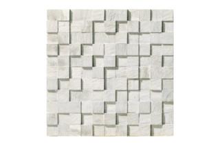 Carrara Mosaico 3D naturale  von  Marmo Project